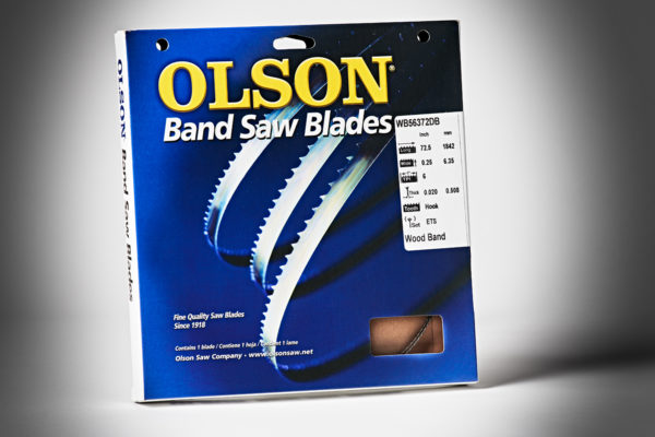 Olson Bandsaw Blade 72&1-2x1-4x16TPI Hook WB56372DB-1