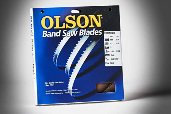 Olson Bandsaw Blade 93&1-2x1-2x3TPI Hook FB23193DB-2