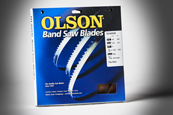 Olson Bandsaw Blade 105x1-4x6TPI Skip FB14505DB-2