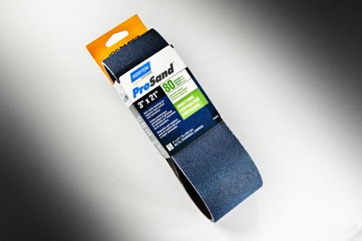 "Norton ProSand 3"" x 21"" Sanding Belt, 80-Grit 01"