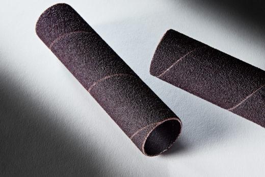 Clesco Spiral Coated Abrasive Sanding Sleeve 1 D x 4-12 L 80 Grit SS-016072-080A