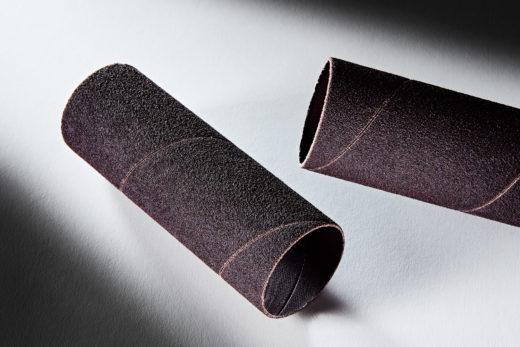 Clesco Spiral Coated Abrasive Sanding Sleeve 1-12 D x 4-12 L 80 Grit SS-024072-080A
