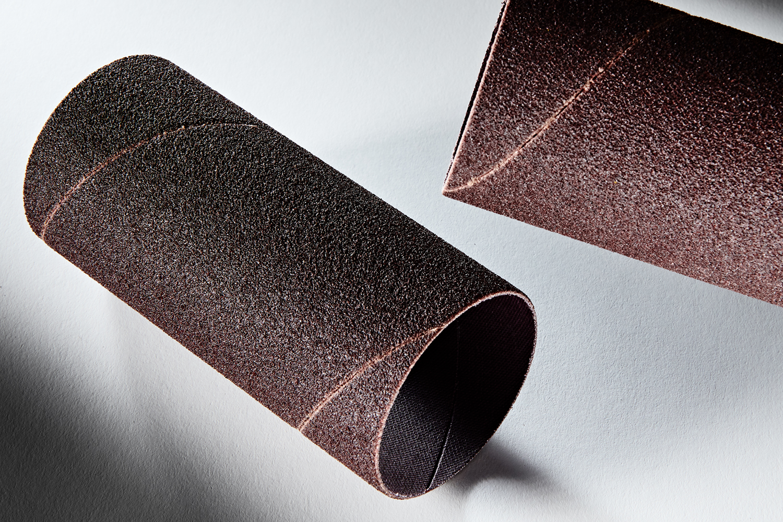 Clesco Spiral Coated Abrasive Sanding Sleeve 2 D x 4-12 L 80 Grit SS-032072-080A