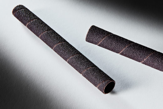 Clesco Spiral Coated Abrasive Sanding Sleeve 12 D x 5-12 L 80 Grit SS-008088-80A