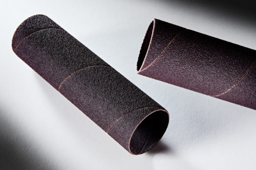 Clesco Spiral Coated Abrasive Sanding Sleeve 1-12 D x 5-12 L 80 Grit SS-024088-080A