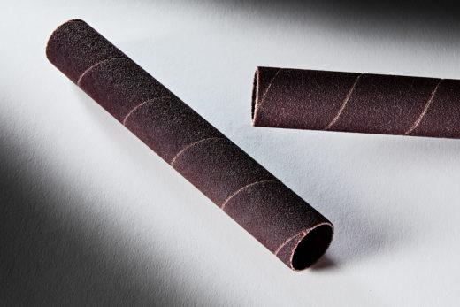 Clesco Spiral Coated Abrasive Sanding Sleeve 34 D x 5-12 L 120 Grit SS-012088-120A