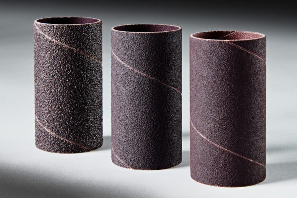 Clesco Spiral Coated Abrasive Sanding Sleeves 1-12 D x 3 L Multi-Pack 3 Each 5080120 Grit SS-024048-9PK