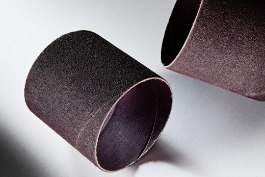 Clesco Spiral Coated Abrasive Sanding Sleeve 3 D x 3 L 80 Grit SS-048048-080A