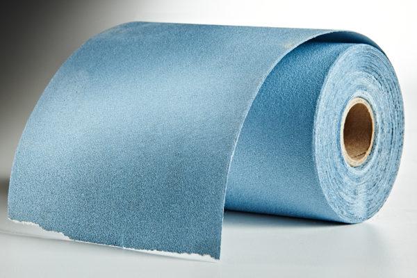 "Mirka Basecut 4-1/2"" x 30' Roll PSA Sandpaper, 120-Grit 02"