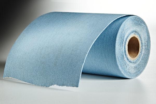 "Mirka Basecut 4-1/2"" x 30' Roll PSA Sandpaper, 150-Grit 02"