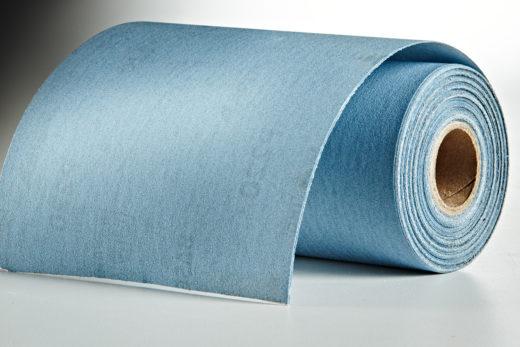 """Mirka Gold 4-1-2"""" x 30' Roll Sandpaper, 220-Grit 02"""