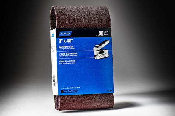 Norton Coarse Grit Cloth Narrow Benchstand Belt 50 Grit 6 x 48 7660701720