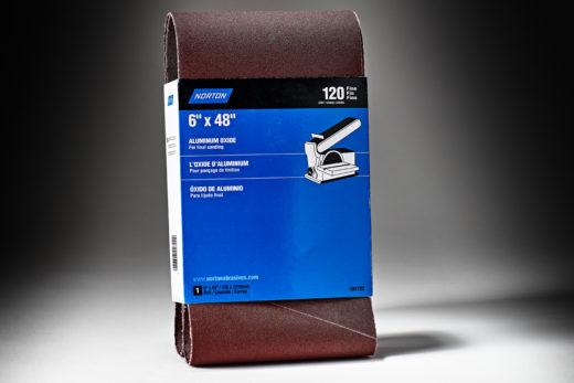 Norton Medium Grit Cloth Narrow Benchstand Belt 120 Grit 6 x 48 7660701722