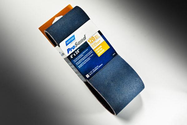 """Norton ProSand 3X 4"""" x 24"""" Sanding Belt, 120-Grit 01"""
