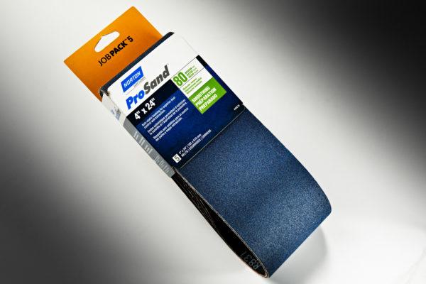 """Norton ProSand 3X 4"""" x 24"""" Sanding Belt, 80-Grit 01"""