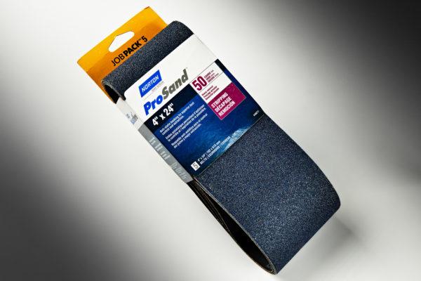 "ProSand 3X 4"" x 24"" Sanding Belt, 50-Grit 01"