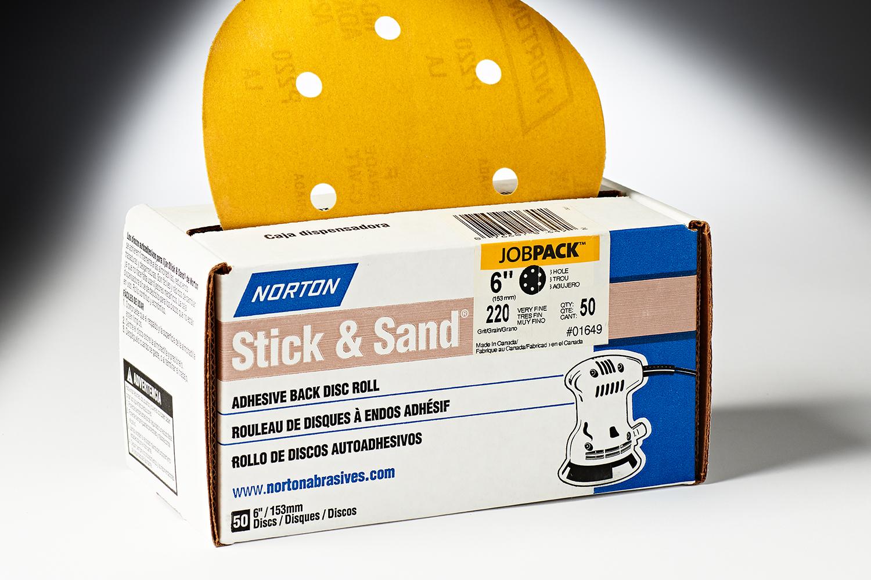 Norton PSA 6 6 Hole 220 Grit 01649