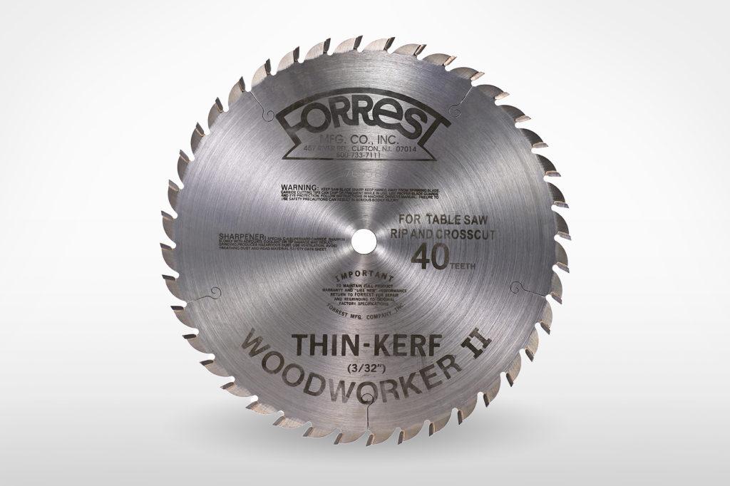 Forrest Woodworker II Saw Blade