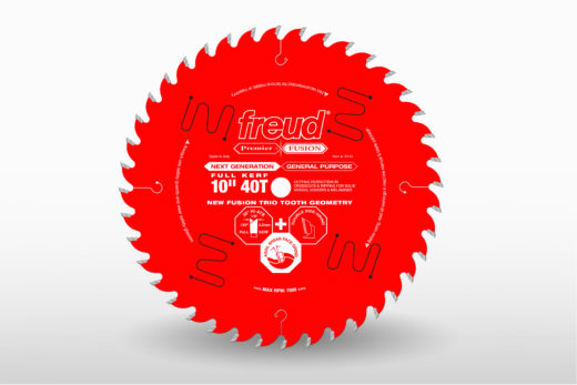 Freud 10in 40T Premier Fusion Industrial Combination blade-P410