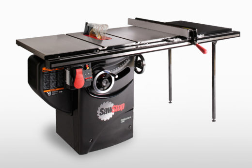 """: SawStop 1.75 HP Professional Cabinet Saw with 36"""" Fence"""
