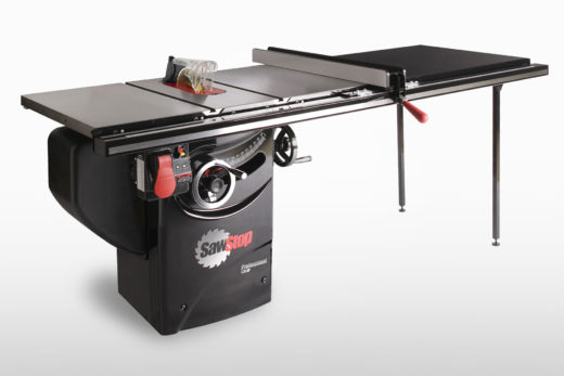 """SawStop 1.75 HP Professional Cabinet Saw with 52"""" Professional T-Glide Fence System"""