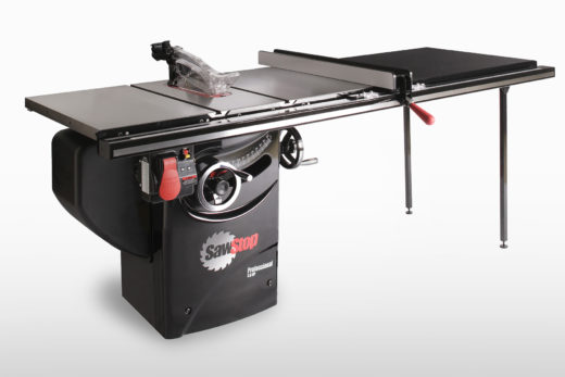 """SawStop 3 HP Professional Cabinet Saw with 52"""" Professional T-Glide Fence System"""