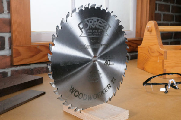 Forrest Woodworker II Saw Blade