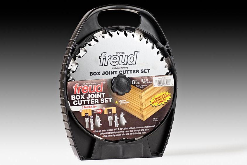 "Freud Box Joint Cutter 8"" inch Dado Blade Set"