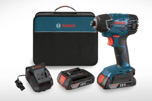 Bosch 18V 1-4 in. Hex Impact Driver Kit