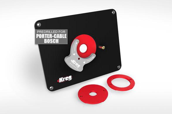 Kreg Precision Router Table Insert Plate