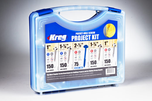 Kreg Pocket-Hole Screw Project Kit 01
