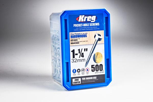 Kreg 6 x 1-1/4 in. Fine Pocket-Hole Screw 01