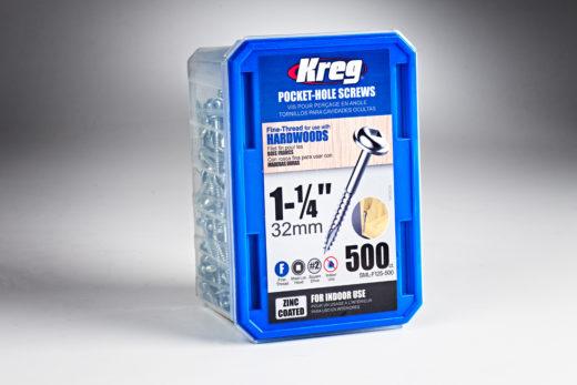 "Kreg #7 x 1-1/4"" Pocket-Hole Screws 01"