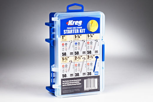 Kreg Pocket-Hole Screw Starter Kit 01
