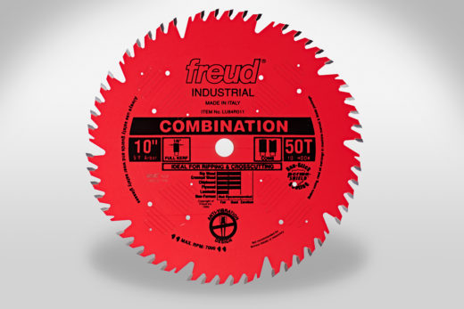 "Freud 10"" 50T Industrial Coated Combination Blade"