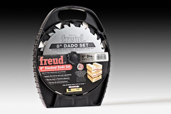 """Freud Super 8"""" Dado Blade Set"""