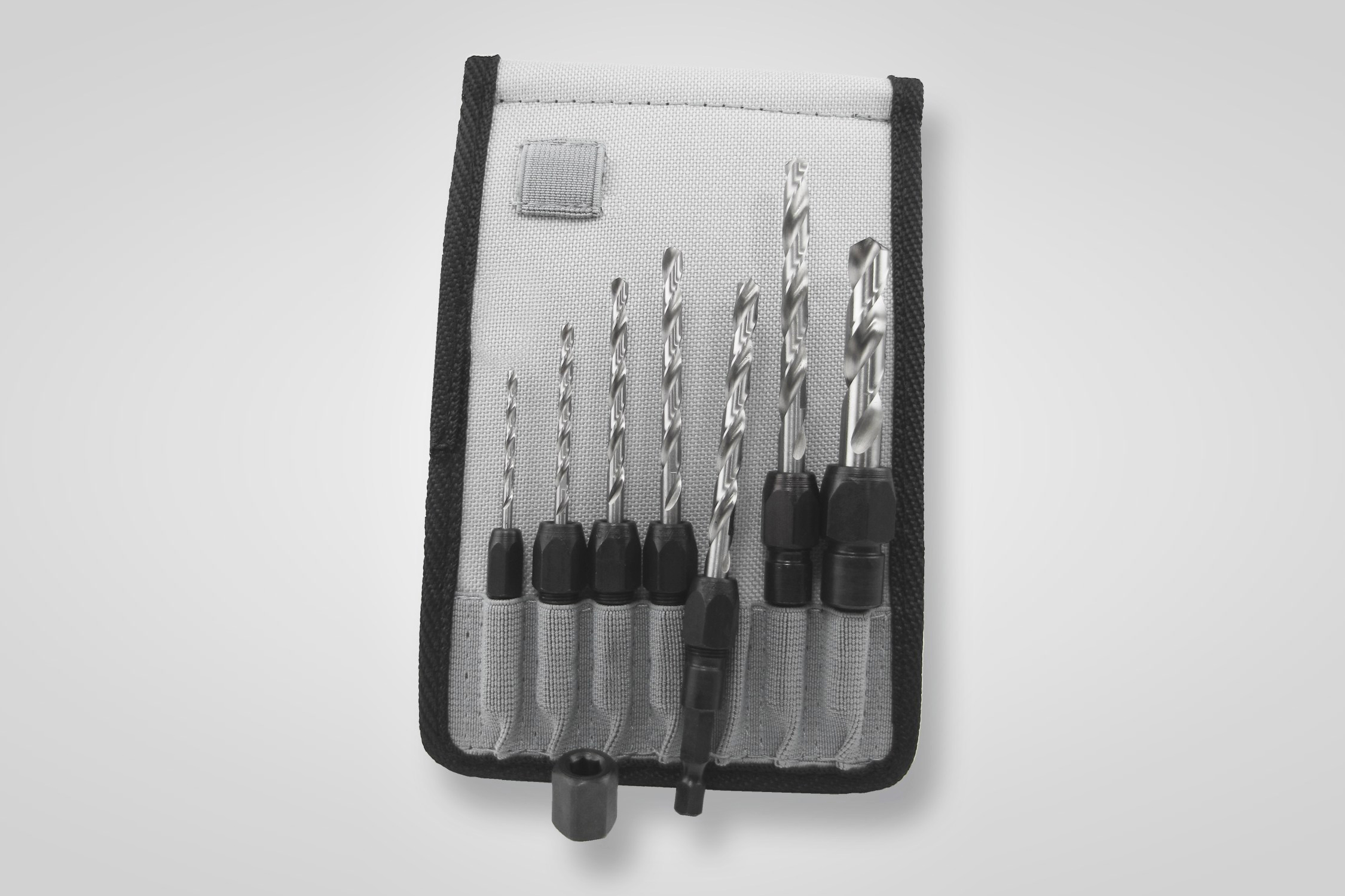 Snappy Tools 7 Piece Drill Bit Adapter Set in Belt Clip Pouch #47001
