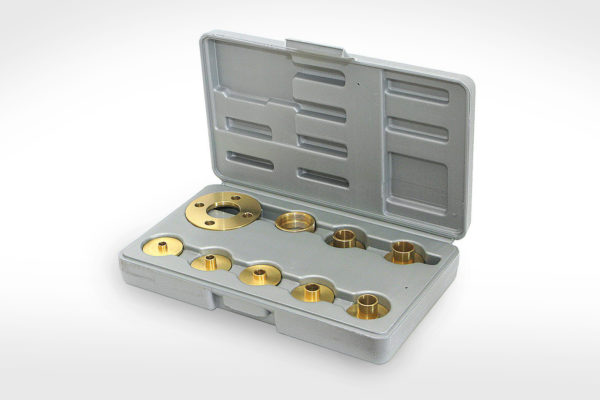 Amana 10 pc. Brass Template Guide Set