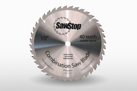 Sawstop 40 Toothc Combination Blade