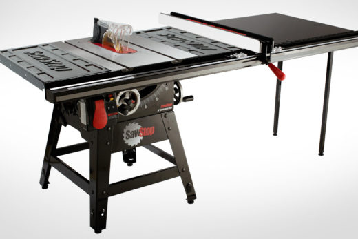 """SawStop 1.75 HP Contractor Saw with 52"""" Professional T-Glide System"""