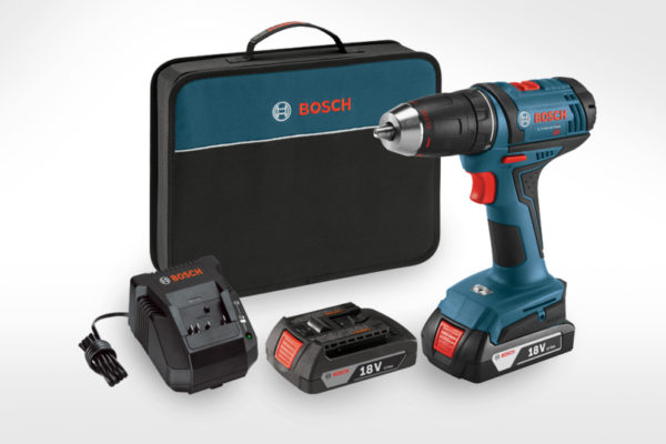 Bosch 18V Compact 1/2 in. Drill-Driver Kit