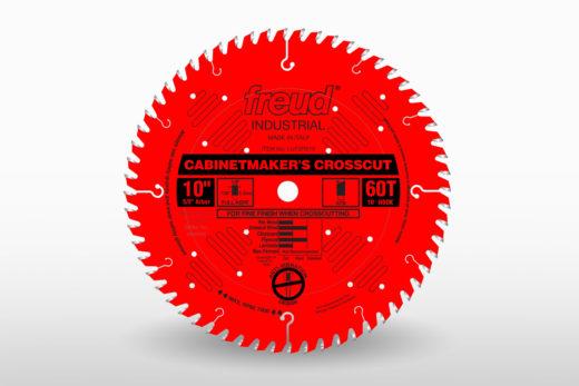 """Freud 10"""" 60T Industrial Cabinetmaker's Crosscut Blade"""