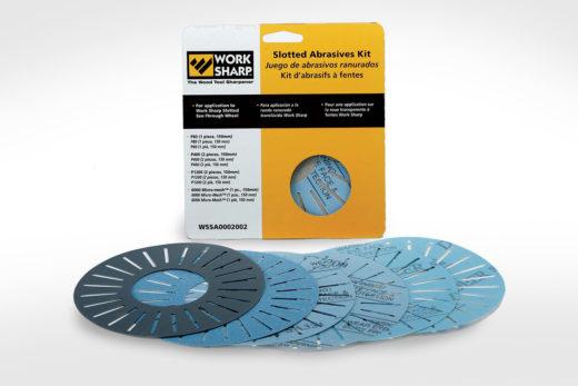 WorkSharp Edge-Vision® Slotted Abrasives Disc Kit_WS3000