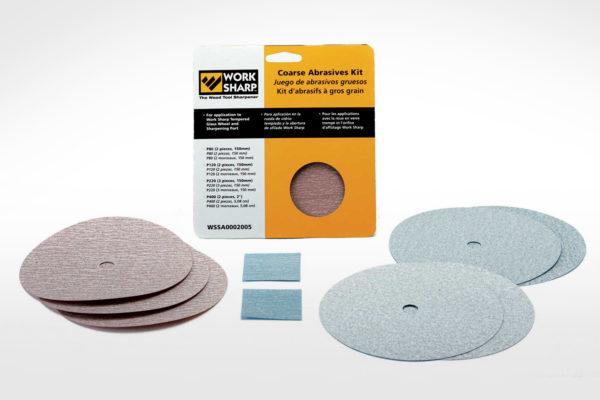Coarse Abrasives Disc Kit_WS3000-WS2000