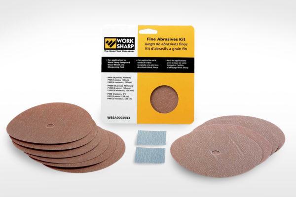 WorkSharp Fine Abrasives Kit_WS3000-WS2000