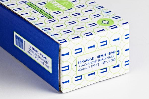 """Cadex 18-Gauge x 1-9/16"""" Brads"""