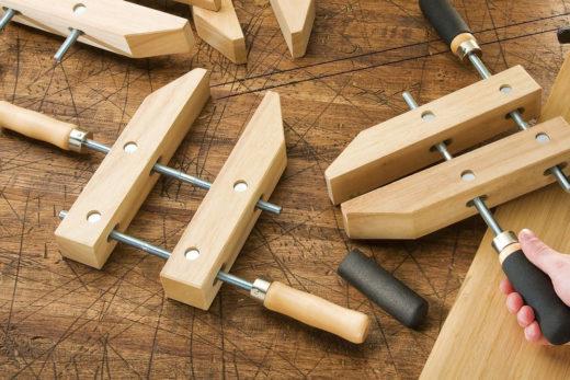 Rockler Wooden Handscrew Clamp 01