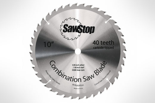 SawStop-CNS-07-148 40T Combination Blade