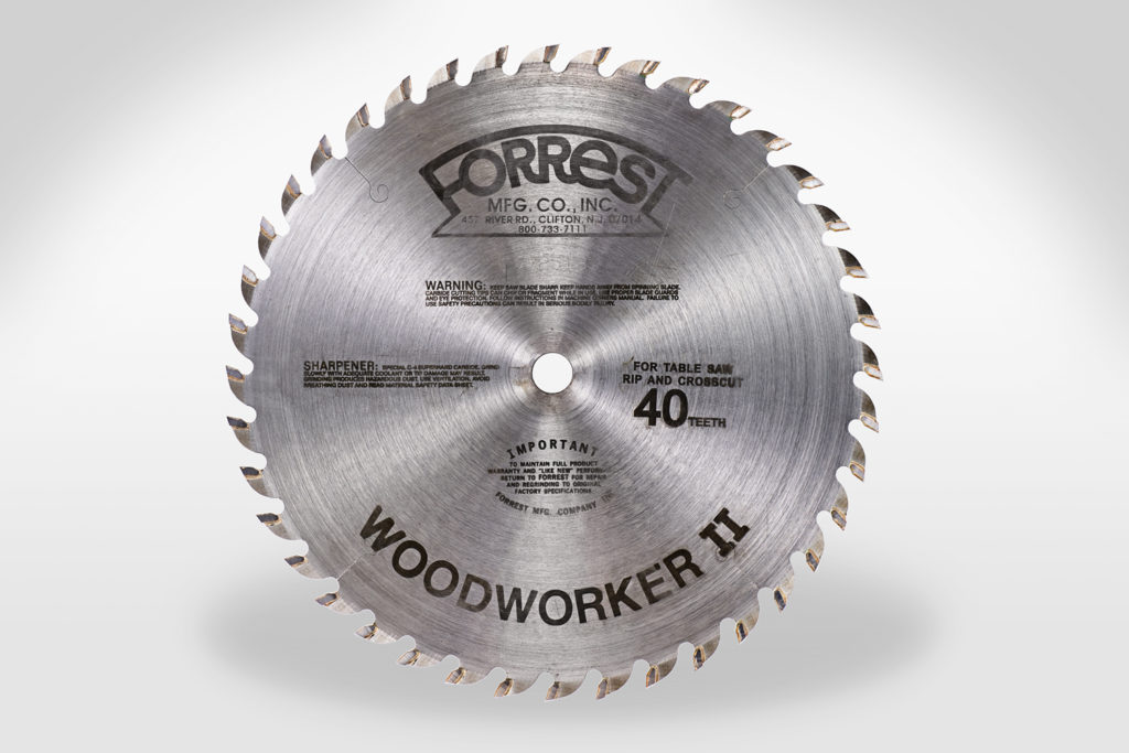 Forrest Woodworker II