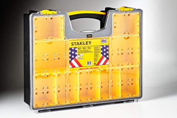 208442 Stanley 10-Compartment Deep Professional Organizer #014710R -1